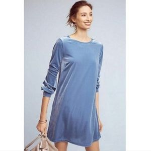 NWT ANTHROPOLOGIE Sunday in Brooklyn Velvet Dress